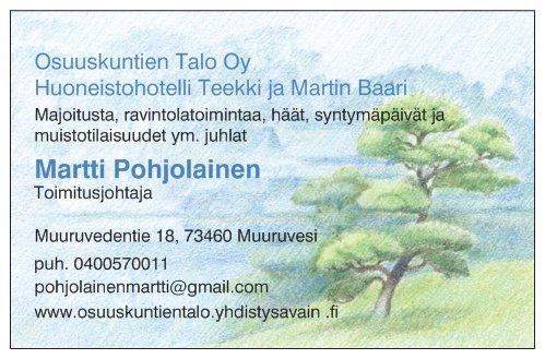 Käyntikortti Osuuskuntien talo Oy 2