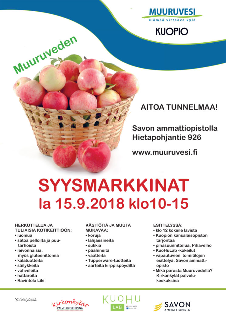 Syysmarkkinat @ Savon ammattiopisto | Suomi